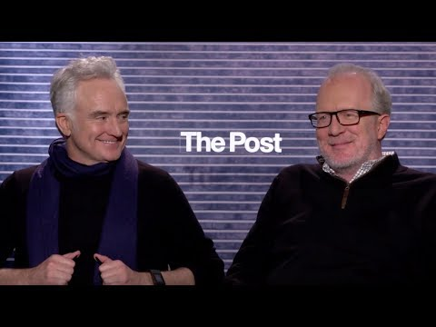 THE POST: Backstage Interview With Tracy Letts & Bradley Whitford streaming vf