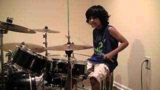 Baixar Raghav 7 year old drummer - New Fang Them Crooked Vultures Drum Cover