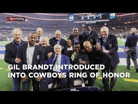 Gil Brandt introduced into Cowboys Ring of Honor