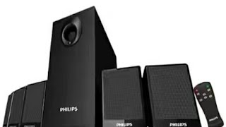 philips dsp 2800 5.1 home thearter speaker system unboxing