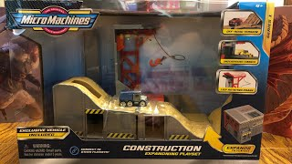 Micro Machines Construction Playset Review