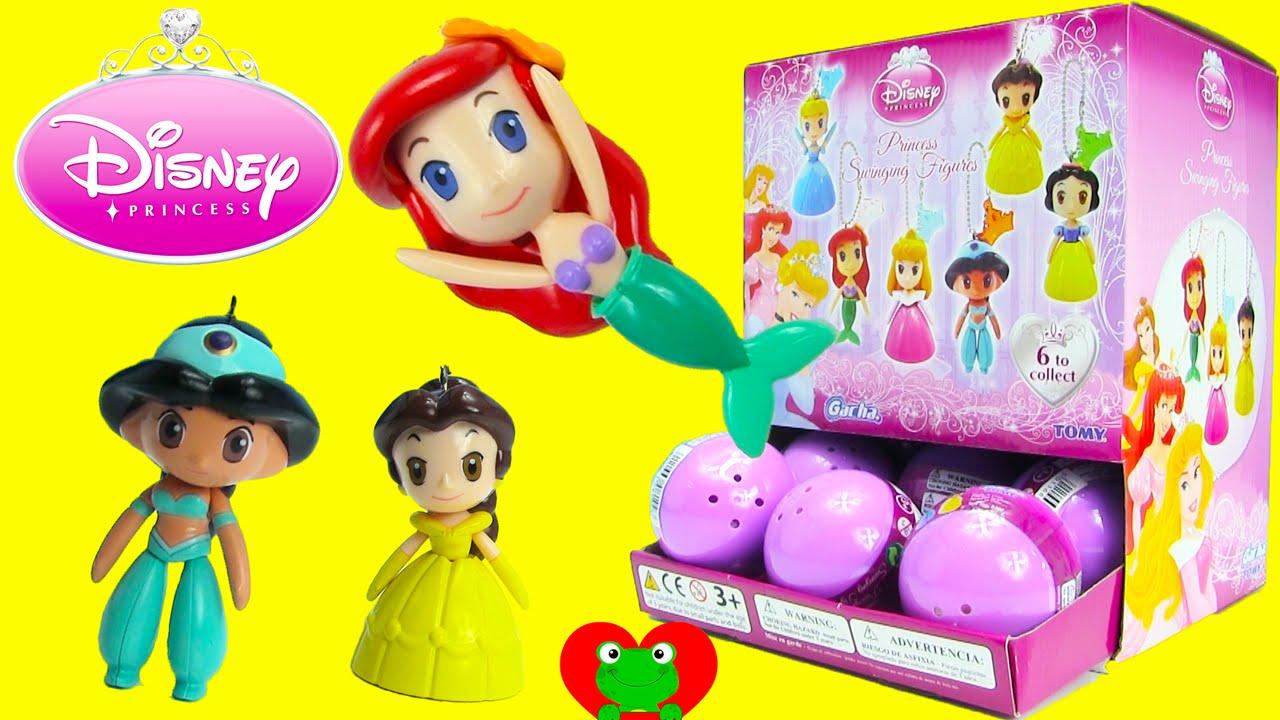 Disney Princess Swinging Figures Gacha Balls Surprise