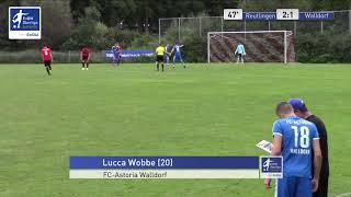 A-Junioren - 2:1 Lucca Wobbe - SSV Reutlingen 05 vs FC Astoria Walldorf