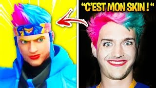 The Fortnite YouTubers who have THEIR CLEAN SKINS! (Tfue, Ninja...)