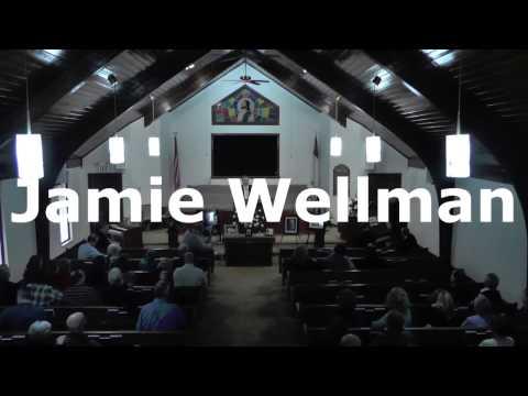 Jamie Wellman Memorial Service