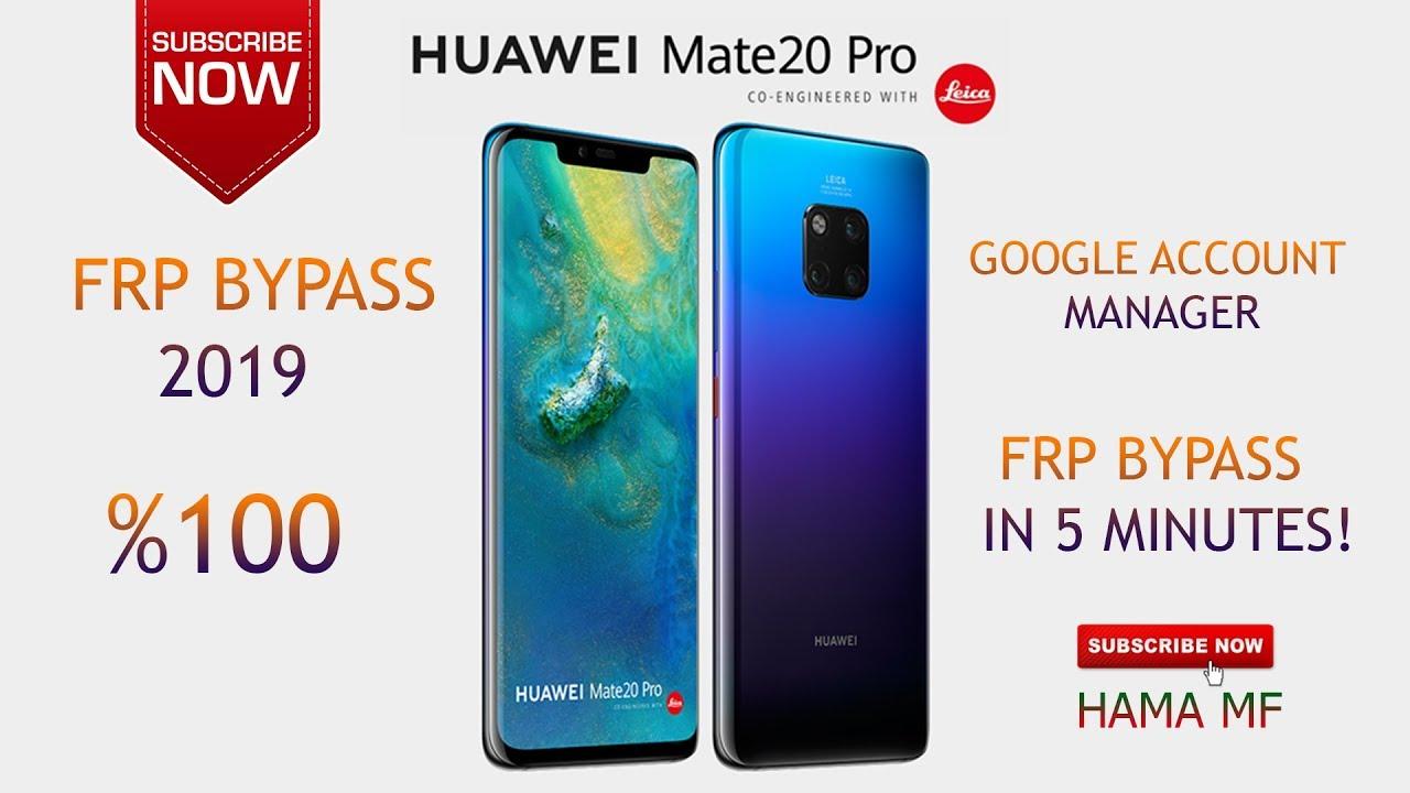BOOM!!!! MATE 20 PRO frp bypass %100 (LYA-L29) HUAWEI 2019 FRP BYPASS
