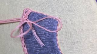 Искусство якобинской вышивки. Игольное кружево №8 из книги.