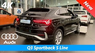 audi Q3 Sportback 2020 (S Line) - FULL in-depth review in 4K | Interior - Exterior vs Q3