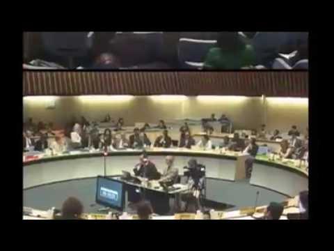 Ethiopia TPLF Representative Tedros Adhanom Embarrassed as World Health Organization Candidate.