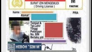 [Viral] Siswa SMP Miliki SIM M & Ditanda Tangani Oleh Kepala Distrik Bukan Polisi - BIS 17/05