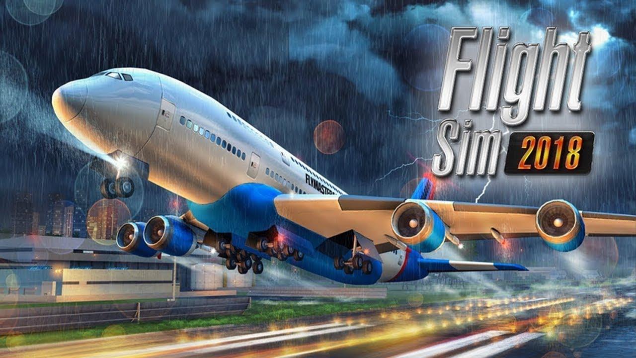 Flight Sim 2018 Gameplay (Android, iOS) - YouTube