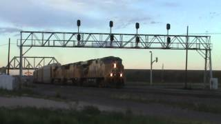 Railfanning Cheyenne, Wyoming on 7-18-12