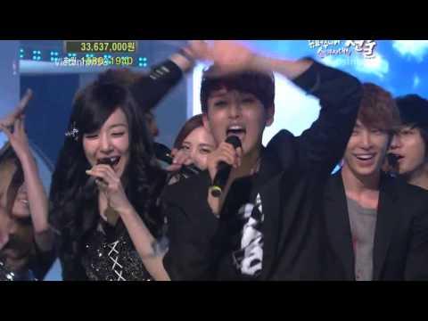 "SNSD & Super Junior singing together HOPE on ""KBS Love Request"" .mp4"