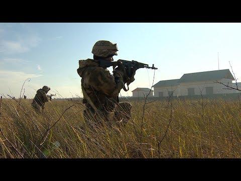Учения ОДКБ и военные съемки    Экзамен на черный берет    Новая подлодка ВМФ