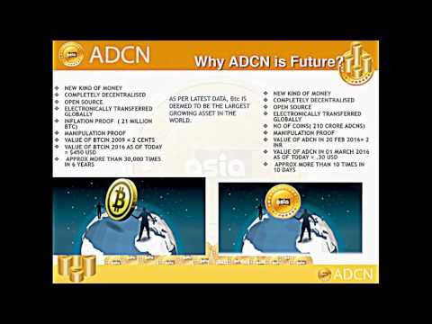 What is Asia Digi Coin (ADCN)  How can we work on this? For more details contact me +918607074636