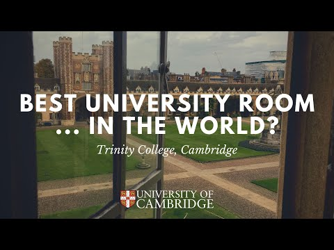 The Best University Room... In the World? - CAMBRIDGE UNIVERSITY