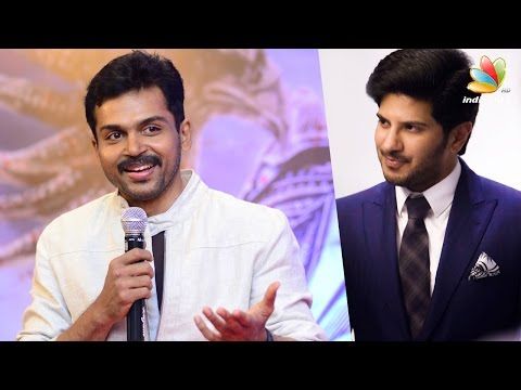 Dulquer and I were supposed to combine for Maniratnam - Karthi | Kaashmora kerala pressmeet