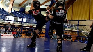 Kornel Dębowski (Fight Academy Ostrołęka) - Radosław Białobrzeski (Fight Academy Ostrołęka)