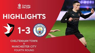 Late City Comeback Avoids Huge Upset | Cheltenham Town 1-3 Manchester City | Emirates FA Cup 2020-21