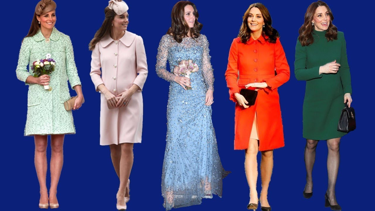 Kate Middleton 39 S Best Pregnancy Style Youtube
