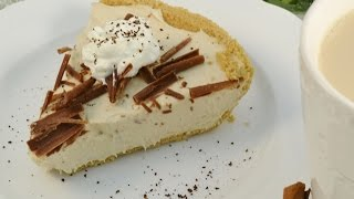 Vanilla Latte Cheesecake Recipe - No Bake Cheesecake | Radacutlery.com