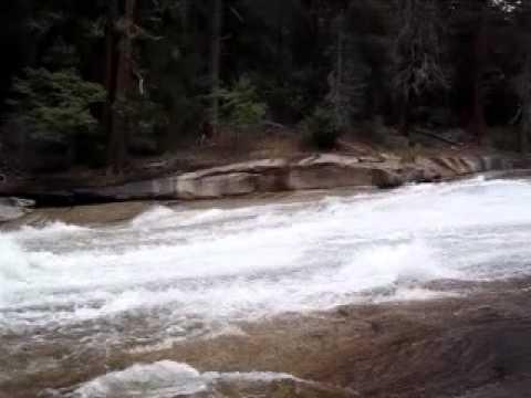 Waterfall above Emerald Pool