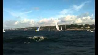 Norwegian Formula 18 Championship 2010 nose dive