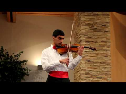 Violin Book Nine, Suzuki Graduation, March 14, 2010