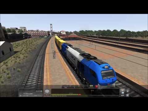 train simulator 2017-capitulo 15-probando la EURO 4000 en la linea Adif 400
