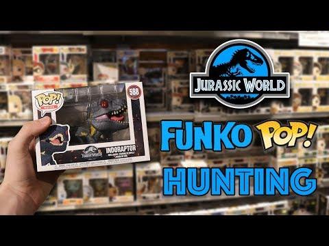 Jurassic World Funko Pop Hunting