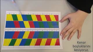 Origami DNA Modeli Yapımı