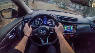 Nissan Qashqai Night | 4K POV Test Drive #345 Joe Black