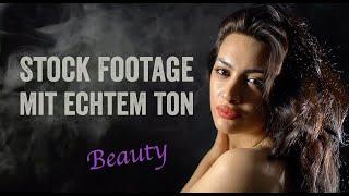 Stock Footage mit echtem Ton (Beauty)