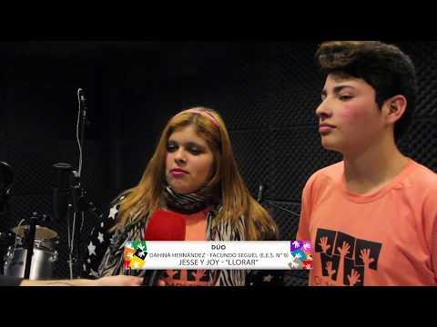 OLIMPÍADAS ESCOLARES CANTA: DAHINA HERNÁNDEZ Y FACUNDO SEGUEL (EES N° 9)