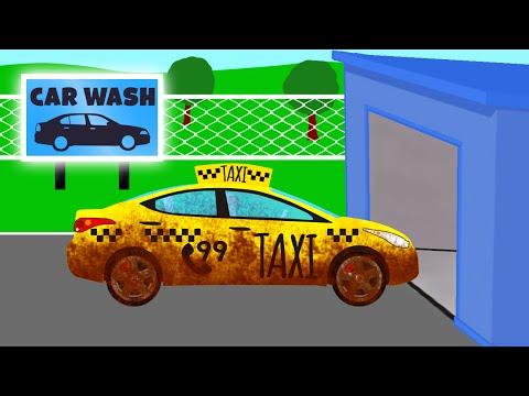Игра мыть такси