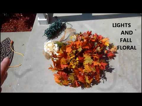 fall home tour 2018 time to start decorating for fall youtube. Black Bedroom Furniture Sets. Home Design Ideas