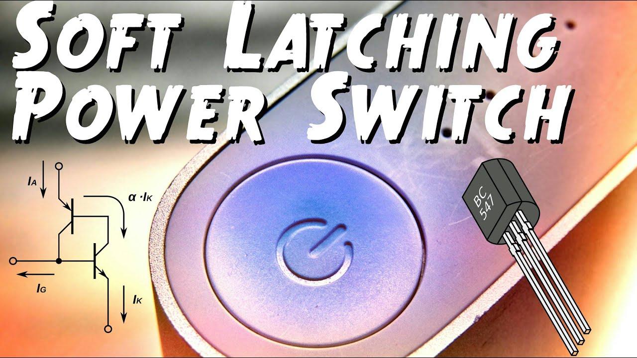 medium resolution of push on push off switch circuit latching circuit diagram