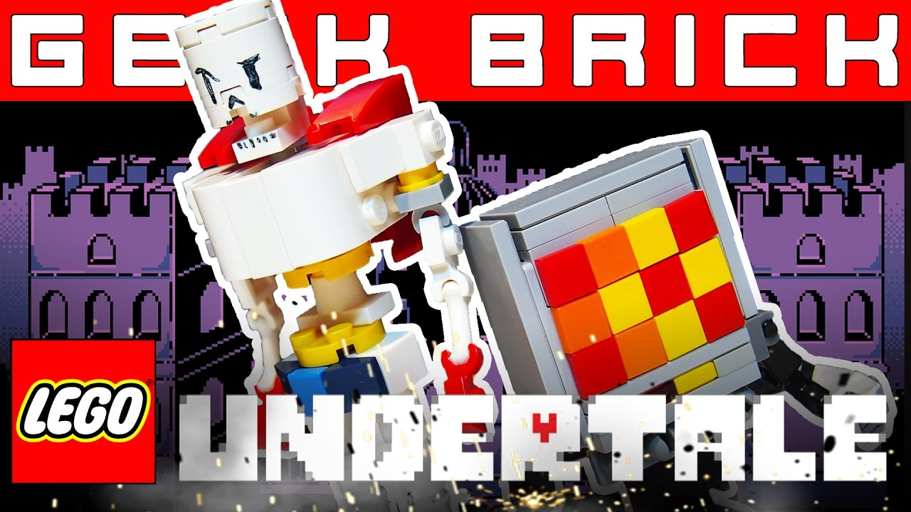 LEGO Undertale Лего-самоделки, LEGO CITY 2017, Новости мира конструкторов [Geek Brick]