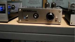 hiFiMAN EF-2A unboxing and powered up