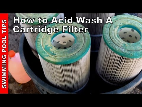 How To Acid Wash A Cartridge Filter