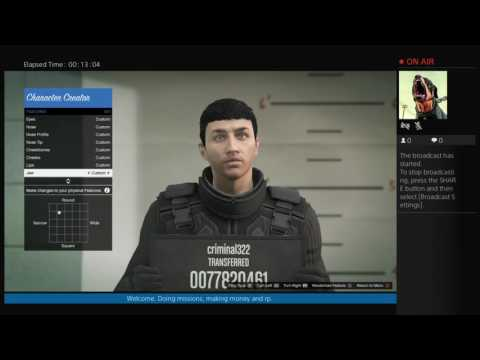 GTA Online - Changing my character appearance