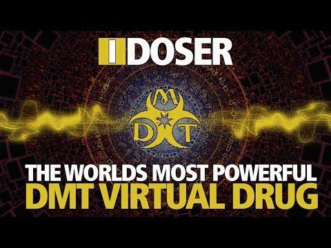 iDoser Virtual Drug: DMT (Worlds Most Powerful)