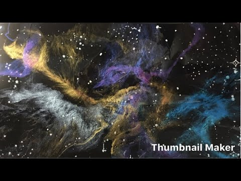 Resin Art_Painting Of Space_epoxy
