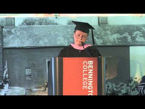 Bruce Williamson speaks at 2014 commencement ceremony
