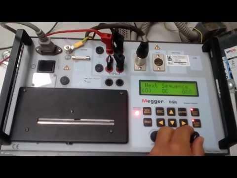 4- اختبار مفاتيح الجهد العالى Circuit Breaker Timing Test باستخدام EGIL