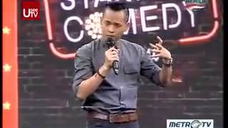 Ernest Prakasa @ Stand Up Comedy Show MetroTV 25 September 2013