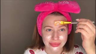 Жемчужная маска пленка Сияние кожи от Skinlite