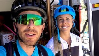 Riding Lauren Gregg's favorite trail | Mountain Biking Lower Rock Creek near Mammoth