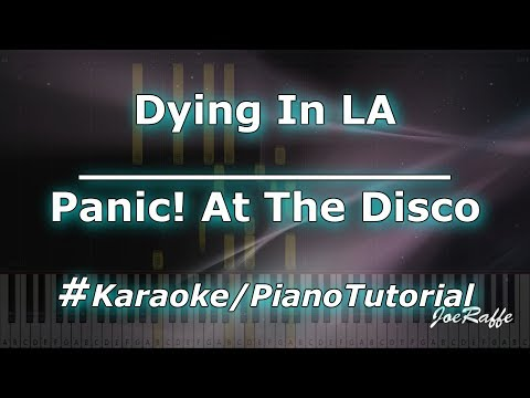 Panic At The Disco - Dying In LA KaraokePianoTutorialInstrumental