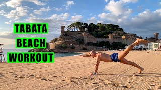 Tabata Beach Workout (with Italo) - Tabata Songs